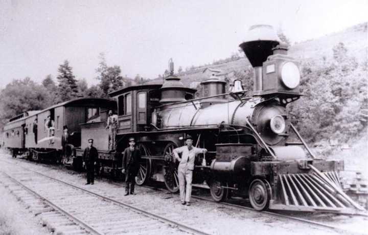 Locomotive #45 - Mulhollon