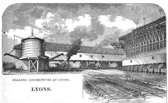 Coal  trans-shipment works at Lyons
